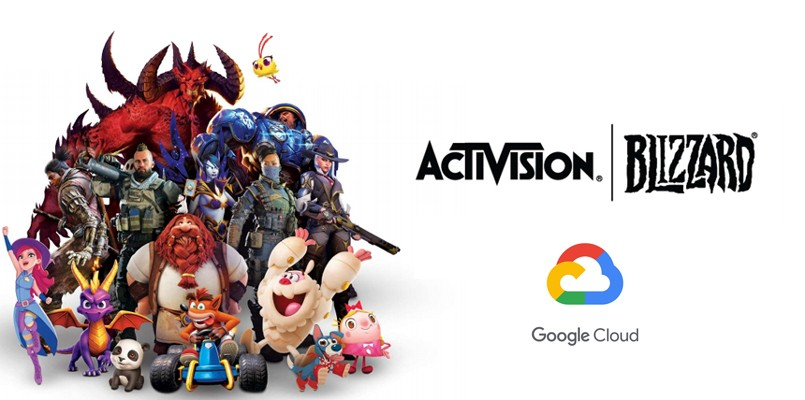 Activision Blizzard and Google Cloud