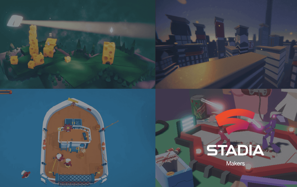 Google Stadia Play Anywhere Game Jam